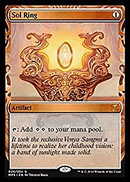Magic: the Gathering - Sol Ring (024/054) - Masterpiece Series: Kaladesh Inventions - Foil