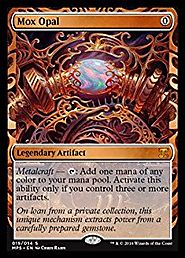 Magic: the Gathering - Mox Opal (019/054) - Masterpiece Series: Kaladesh Inventions - Foil