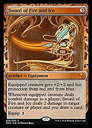 Magic: the Gathering - Sword of Fire and Ice (029/054) - Masterpiece Series: Kaladesh Inventions - Foil