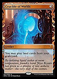 Magic: the Gathering - Crucible of Worlds (011/054) - Masterpiece Series: Kaladesh Inventions - Foil
