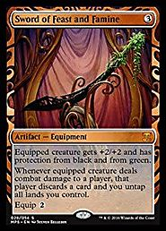 Magic: the Gathering - Sword of Feast and Famine (028/054) - Masterpiece Series: Kaladesh Inventions - Foil