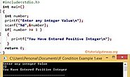 If Statement in C Language