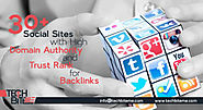 30+ Social Sites with High Domain Authority and Trust Rank for Backlinks