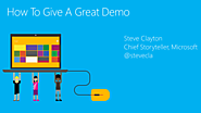 Ten tips for a great demo