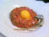 Use frozen proteins for tartare