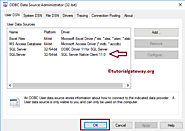 Create SQL Server Native Client 11.0 Connection