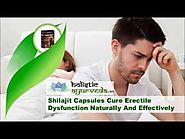 Shilajit Capsules Cure Erectile Dysfunction Naturally And Effectively
