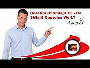 Benefits Of Shilajit ES - Do Shilajit Capsules Work?