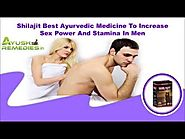 Shilajit Best Ayurvedic Medicine To Increase Sex Power Stamina In Men