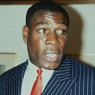 Boxing legend Frank Bruno at ICE Totally Gaming