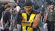 SCORPION! Mortal Kombat Cosplay at New York Comic Con 2013