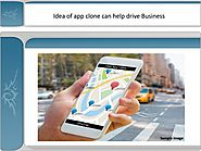 Idea of app clone can help drive business