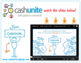 CashUnite Splash Page