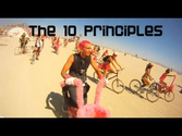 Burning Man's 10 Principles - Halcyon style