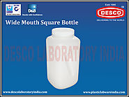 Polypropylene Wide Mouth Square Bottle | DESCO