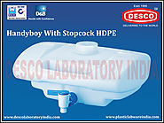 Handyboy with Stopcock HDPE Supplier | DESCO