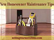 New Home Owner Maintenance Tips
