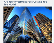 Are your investment fees costing you too much? Free calculator