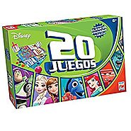 Disney Board Game Multi Juegos 20 En 1 (Spanish Edition)