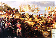 Cortes Claiming Land for the Spanish Crown