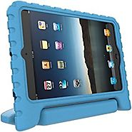 iPad Mini Case for Kids: Stalion® Safe Shockproof Protection for iPad Mini 1st 2nd 3rd & 4th Generation (Berry Blue) ...