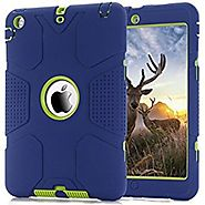 iPad Mini Case, iPad Mini 2 Case,iPad Mini 3 Case, Hocase Robot Series High Impact Resistant Shockproof Case for iPad...