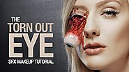 Torn out eye special fx makeup