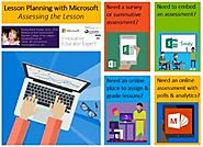 Lesson Planning with Microsoft: Assessing the Lesson!
