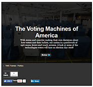 The Voting Machines of America - Photo Essays