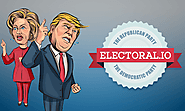 Presidential Election Game Electoral.io. Online For Free. Lead Your Presidential Candidate To Victory!