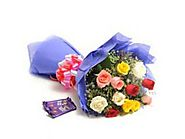 Send Flowers to Mumbai � Send Gifts Mumbai | Flowers Delivery Mumbai - Giikers