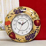 Tuscan Kitchen Wall Clock