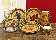 16PC Tuscan Dinnerware Set