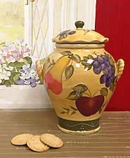 Tuscan Cookie Jar