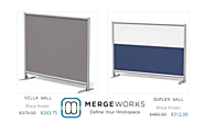Customized Modern Office Partition Walls for Flexible Workspaces