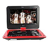Buyee Handheld Portable DVD Player 9.5 Inch 270 Degree Swivel Screen Support Analog Tv/ Vcd/cd/mp3/mp4/usb Sd Card Sl...