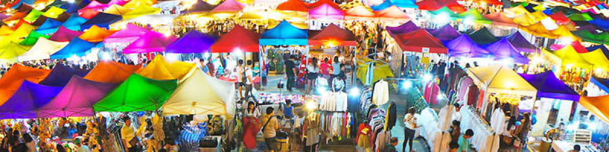 Headline for 4 Best Night Markets in Bangkok - Shopping After Dark