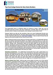 The procedure of new home builders for your new home