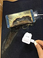 Charging is no more safe with Samsung Galaxy Note 7