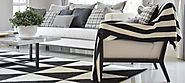 How to Add some Black and White Glamour to your Home Decor | Perry Homes