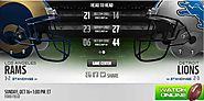 Lions vs Rams - Rams vs Lions live, stream, watch, game, nfl, football, online. Los Angeles Rams game, live, stream, ...