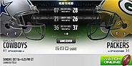 Cowboys vs Packers, Packers vs Cowboys live, Cowboys vs Packers live stream, watch, Dallas Cowboys vs Green Bay Packe...
