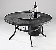 Outdoor GreatRoom Nightfire Round Fire Pit Table