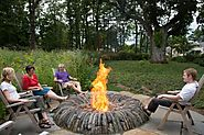 10 Outdoor Fireplaces and Fire Pits