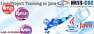 Live Project Training in JAVA