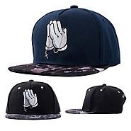 Praying Hands Jesus Snapback