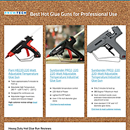 Best Hot Glue Guns for Professional Use
