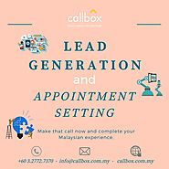 Lead Generation and Appointment Setting