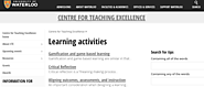 Designing Learning Activities