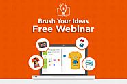 Web-to-Print Webinar for B2B and B2C Offline Printers / Brush Your Ideas Store Blog